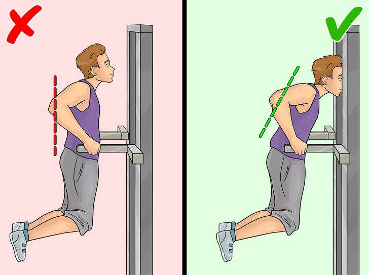 Exercise #2: Dips On The Parallel Bars