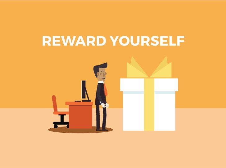 Tip 6 To Stay Motivated: Reward Yourself