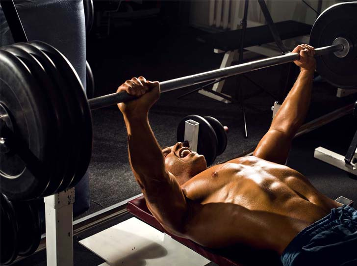 Exercise #2: Barbell And Dumbbell Chest Presses