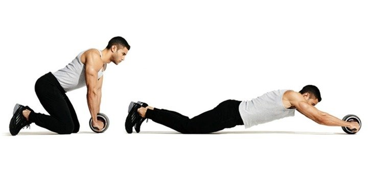 Best Ab Exercise #5: The Ab Roll Out