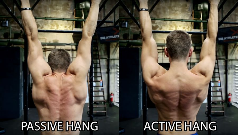 improve your pull-ups : passive hang vs active hang