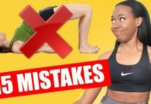 15 workout mistakes
